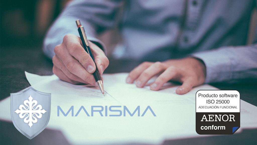 Certificado ISO 25000 Marisma